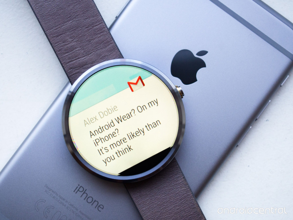 android wear cos'è iphone