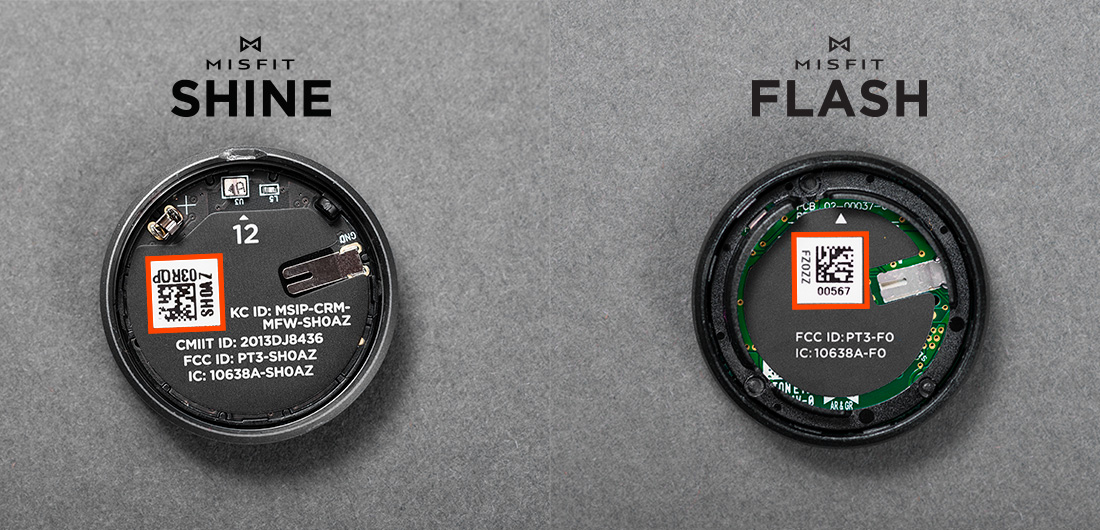 misfit flash recensione batteria