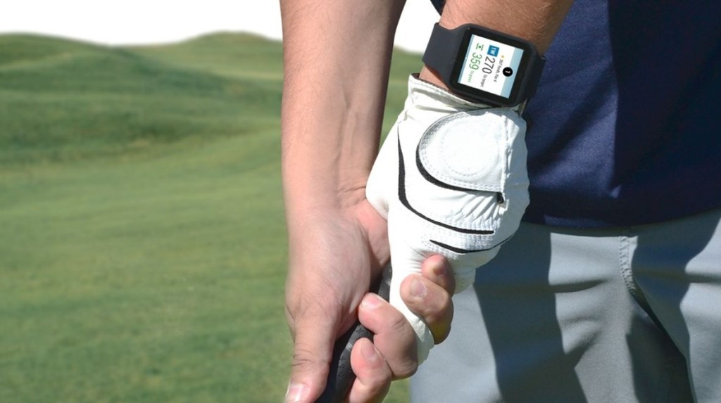 smartwatch golf gps