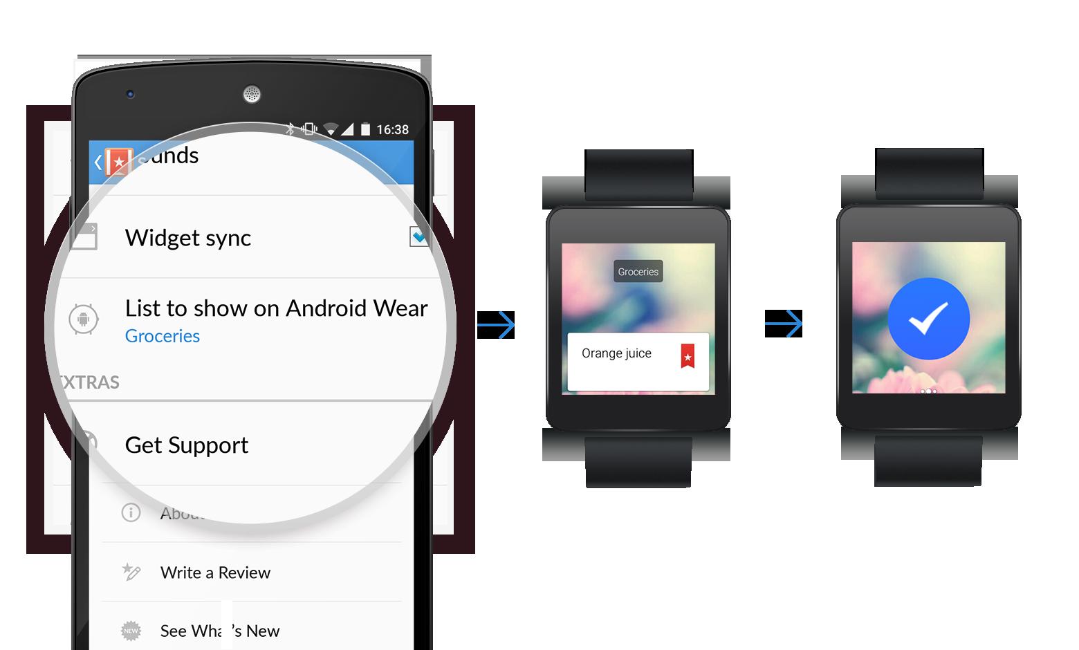 android wear scegliere notifiche