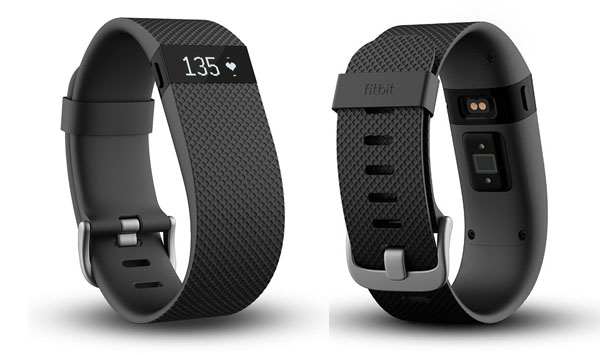 fitbit charge hr confronto