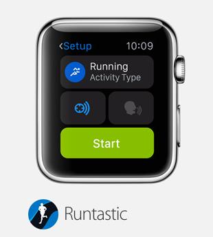 smartwatch apple runtastic