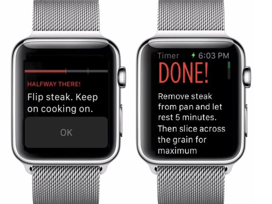 app cucina apple watch