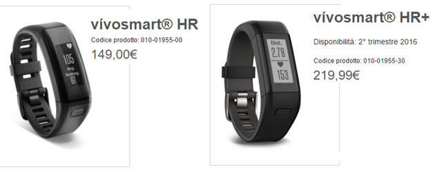 vivosmart hr vs vivosmart hr plus