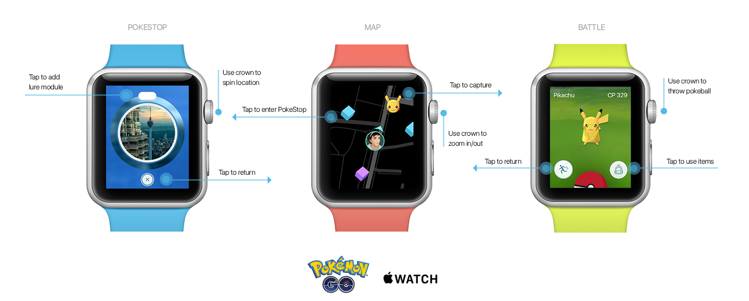 pokemon apple watch