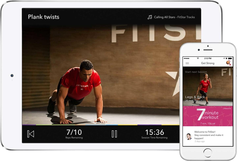 allenamento fitstar app