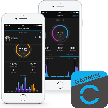 garmin connect vivosmart 3
