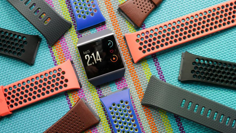 nuotare ionic fitbit