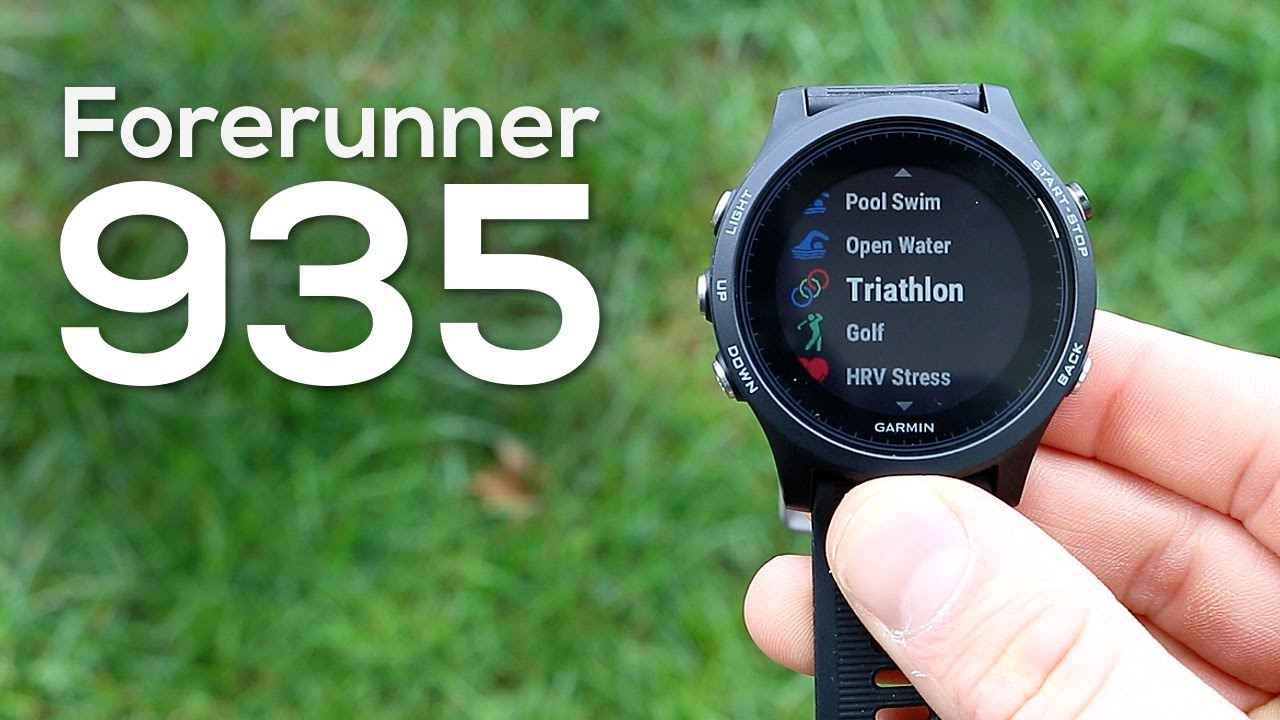 garmin forerunner 935 check firmware version