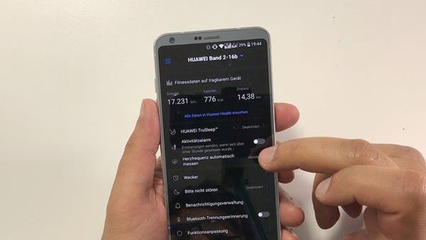 App Huawei Band 2 Pro