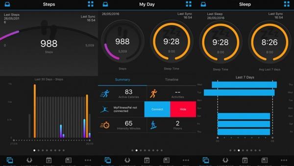 App Garmin Forerunner 35