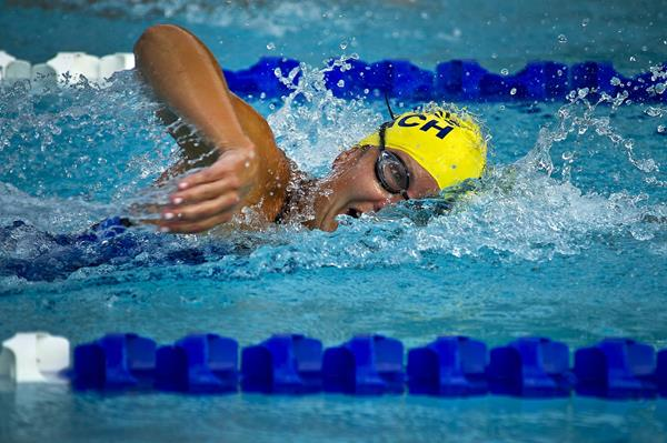 Dispositivi wearable: occhiali nuoto