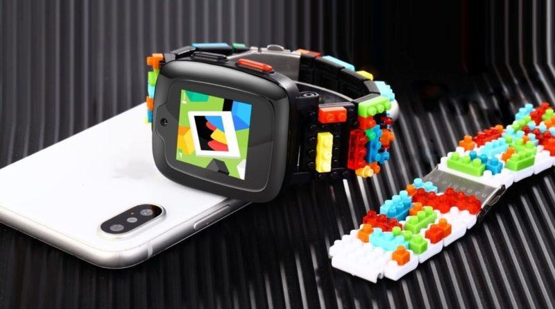 Omate x Nanoblock, lo smartwatch per bambini