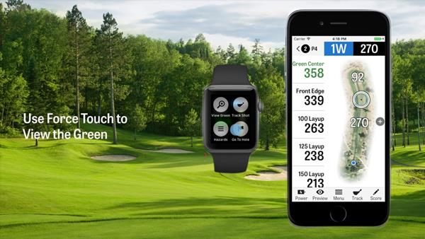 Migliori app per il golf dell'Apple Watch: GolfShot