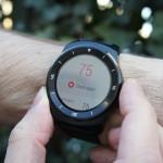 recensione monitoraggio frequenza cardiaca LG G watch r