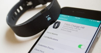 fitbit charge hr iphone