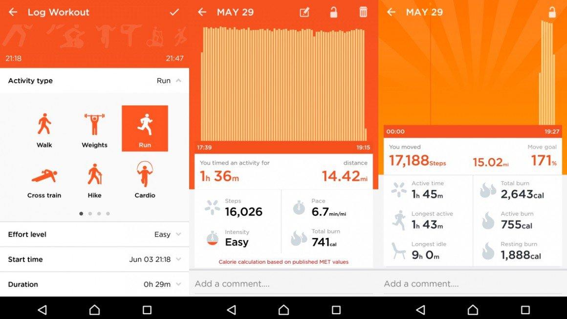 recensione app jawbone up 3