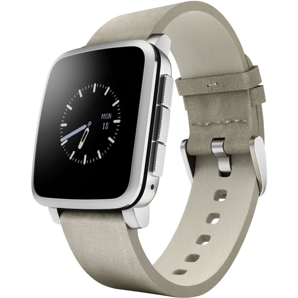 Pebble Time steel alternativa apple watch