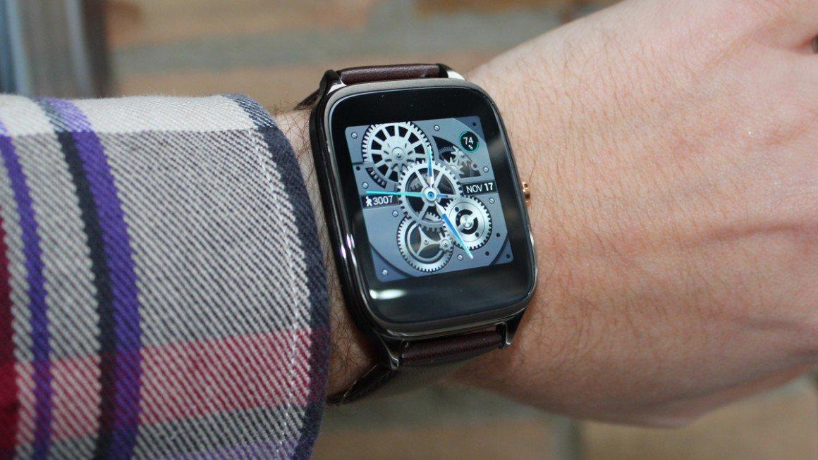 smartwatch zenwatch 2 design