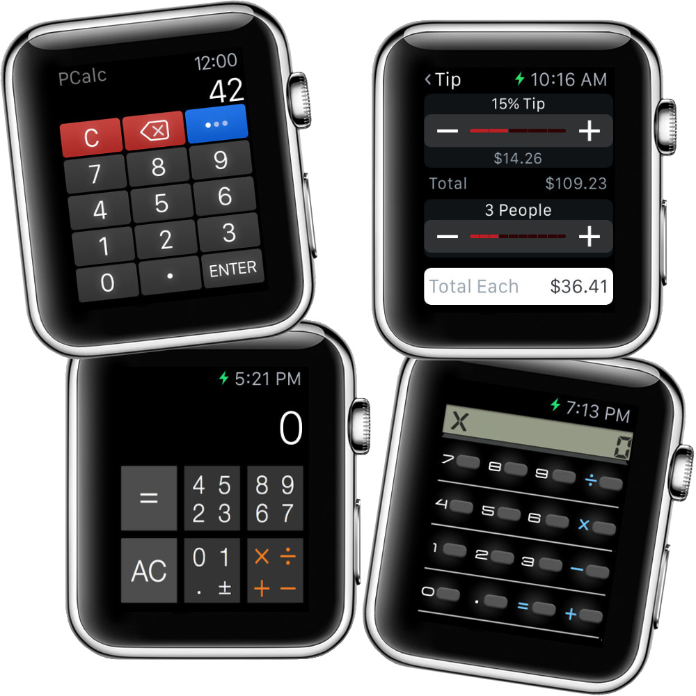 miglior calcolatrice apple watch