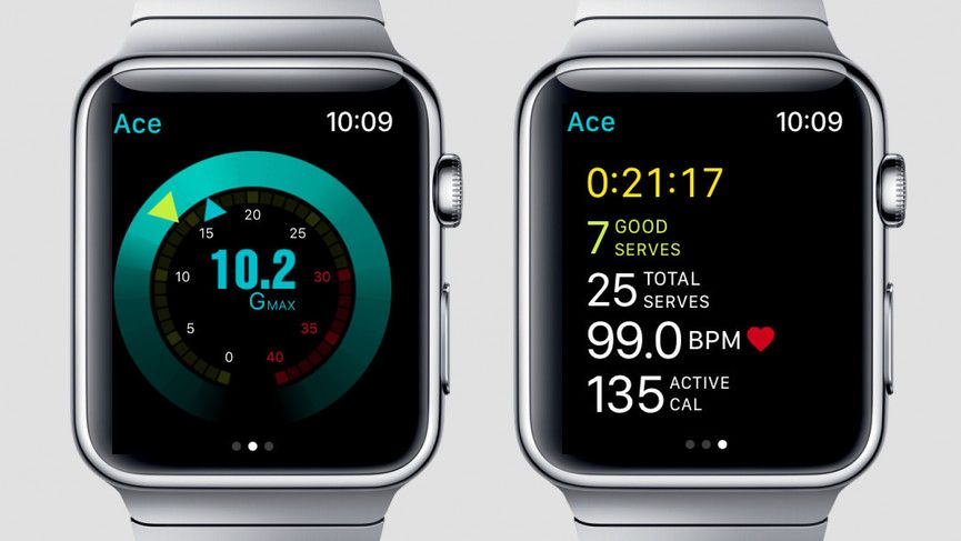 app tennis apple watch