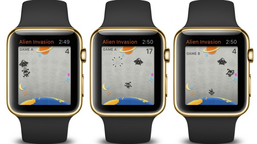 miglior gioco alieni apple watch