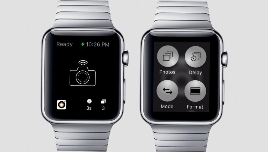 miglior app fotocamera remota apple watch