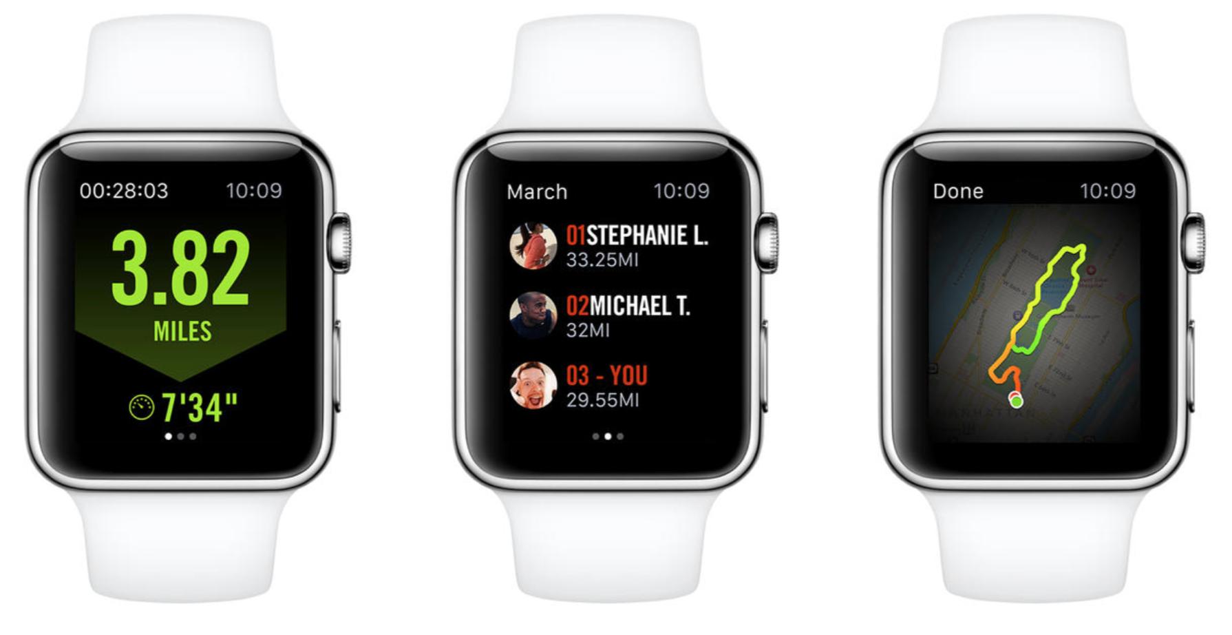 migliore app corsa apple watch