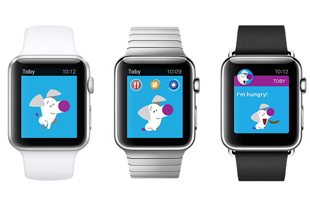 animali virtuali apple watch