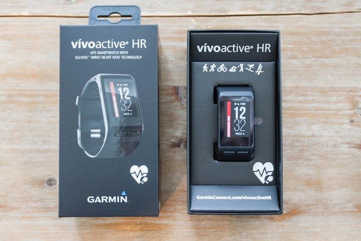 vivoactive hr confezione batteria