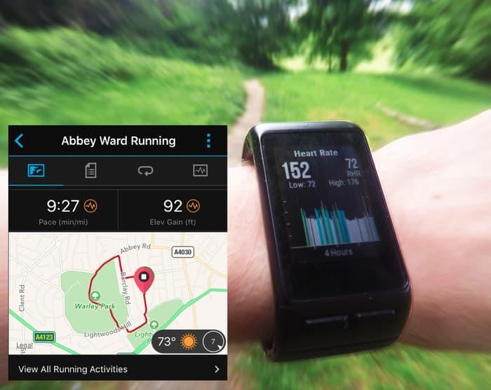 vivoactive hr per runner o corsa