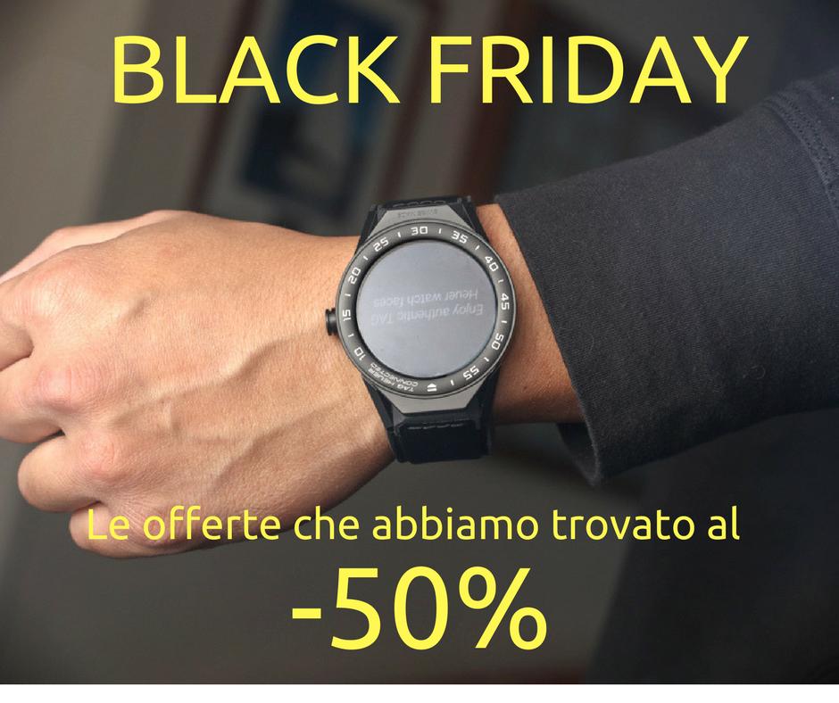 offerte blackfriday smartwatch