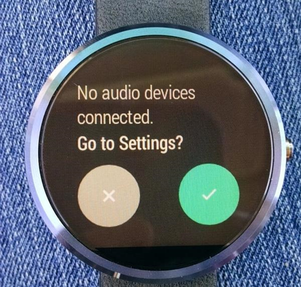 Connessione cuffie ad Android Wear 2.0