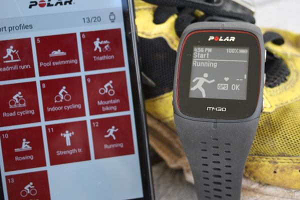 Utilizzo runner Polar M430