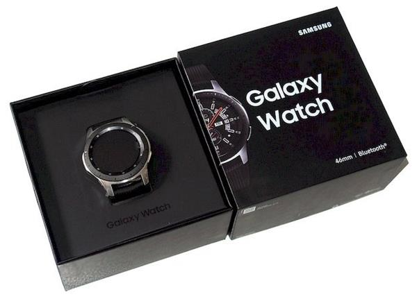 Recensione Samsung Galaxy Watch: Unboxing