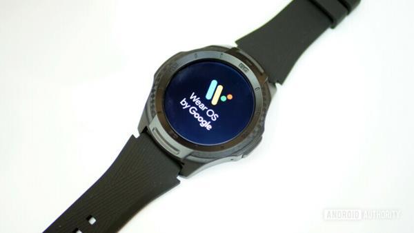 Recensione Ticwatch S2: Software