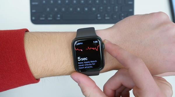 Configurazione App ECG di Apple Watch Serie 4