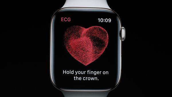 Notifiche App ECG di Apple Watch Serie 4
