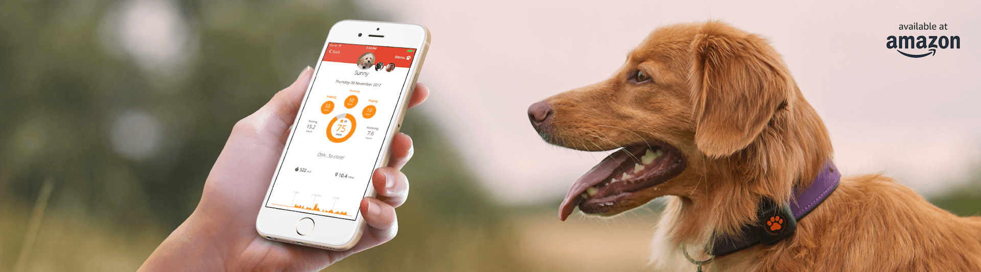 activity tracker specifico per cani